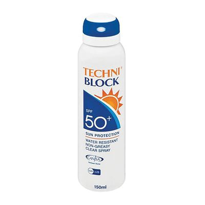Techniblock SPF50 150ml Spray