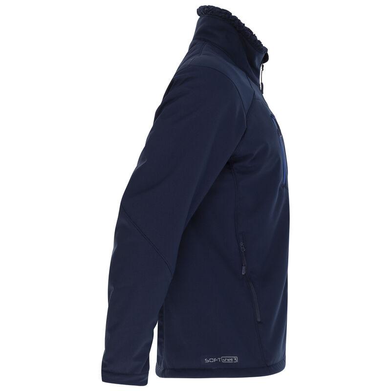 K-Way Men's Blane Softshell  -  navy-blue