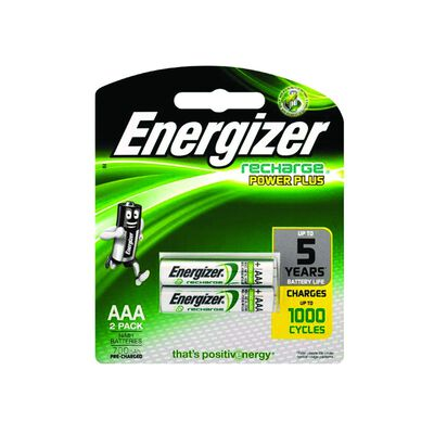 Energizer AAA-2 Rechargeable Batteries