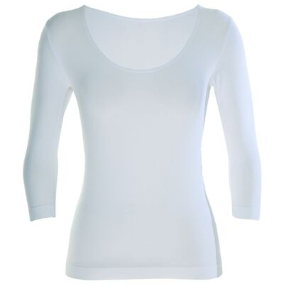 Boody Women's 3/4 Sleeve Scoop Top