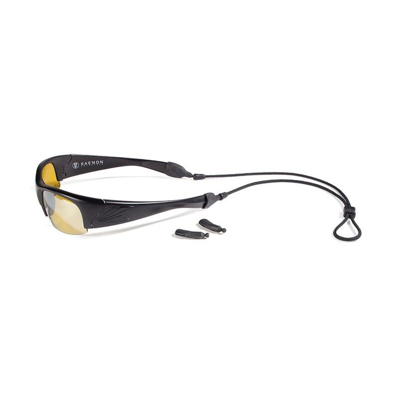Croakies Terra System  XL & XXL Glasses Cord Combo -  black