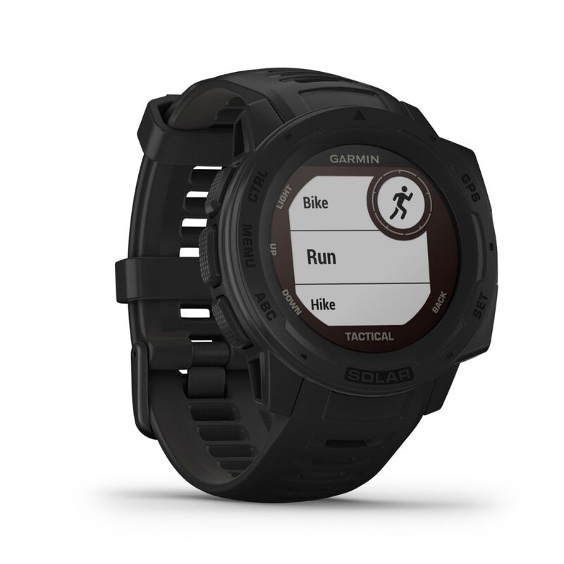Garmin Instinct Solar Fitness Watch -  graphite
