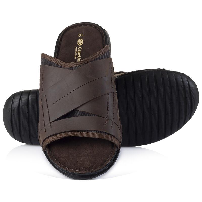 Cape Union Men's Bowie Sandal -  chocolate