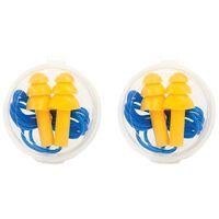 CU Silicon Ear Plugs -  nocolour