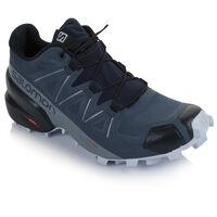 Salomon Women's Speedcross 5 Shoe -  blue-iceblue