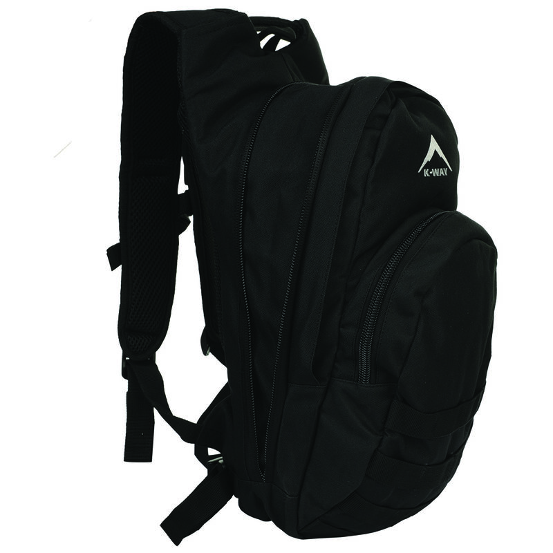 K-Way Hawk 3 + 10L Hydration Pack -  black