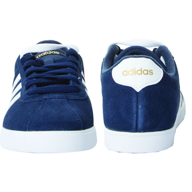 Adidas Women's Courtset W Sneaker  -  navy-white
