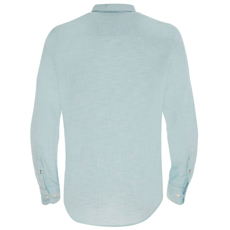 Old Khaki Men's Sammy Regular Fit Shirt  -  turquoise