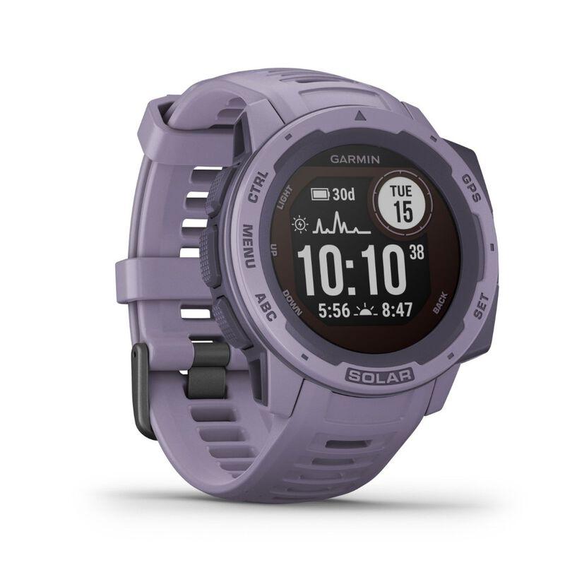 Garmin Instinct Solar Fitness Watch -  lilac
