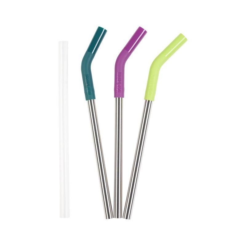 3-Pack Klean Kanteen 10mm Straw  -  assorted