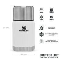 Stanley 0.7L Adventure Vacuum Food Jar  -  white