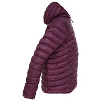 K-Way Women's Raven Eco Padded Jacket -  plum
