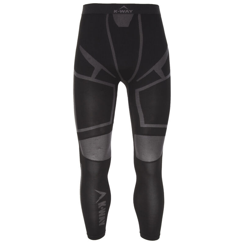 K-Way Men's Bamboo Thermaskins Long John -  black