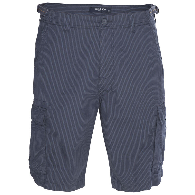 CU & Co Men's Callum Shorts -  blue-white