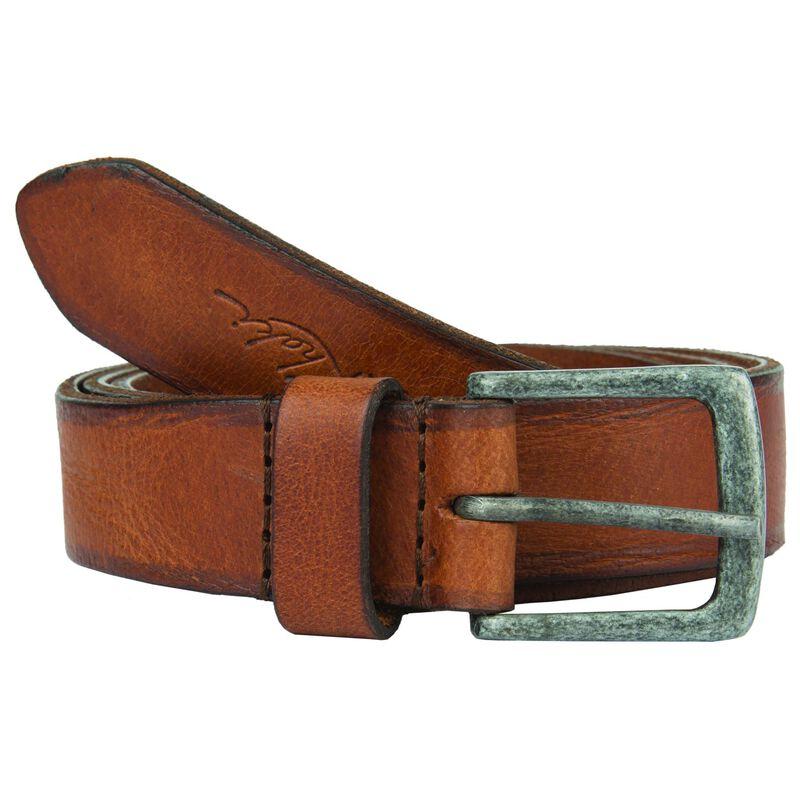 Old Khaki Women's Kodiak Worn Leather Basic Belt -  tan
