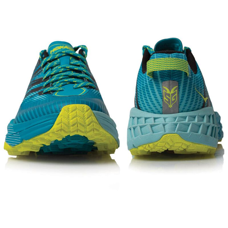 Hoka Women's Speedgoat 4 Shoe -  aqua-yellow