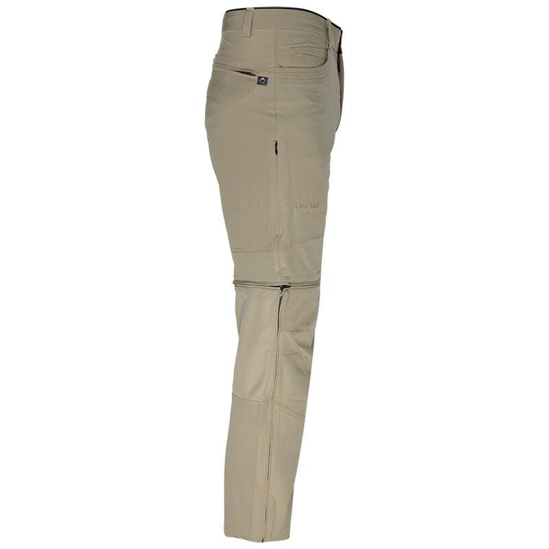 K-Way Men's Explorer Bolton Zip-Off Trouser -  khaki