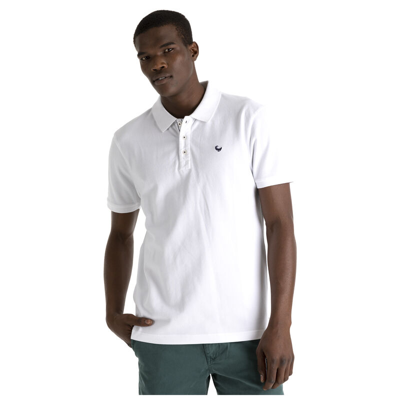 Howard 2 Men's Relaxed Fit Golfer  -  white