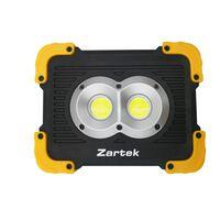 Zartek ZA449 Rechargeable Worklight -  black-yellow
