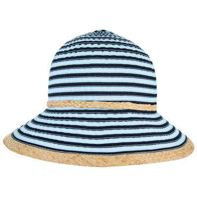 Rare Earth Eloise Striped Ribbon Hat