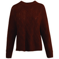 Carlien Women's Pull-Over -  chocolate