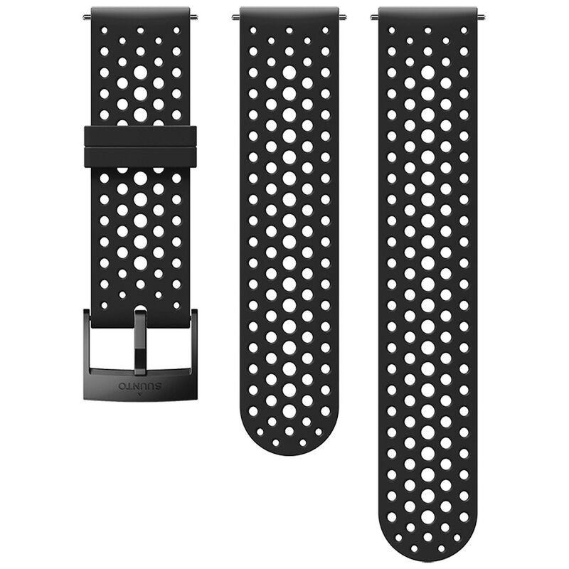 Suunto 24 mm Athletic 1 Silicon Strap -  black