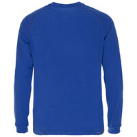 K-Way Men's Straus '19 Crewneck Fleece  -  blue