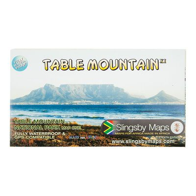 Slingsby Maps Table Mountain