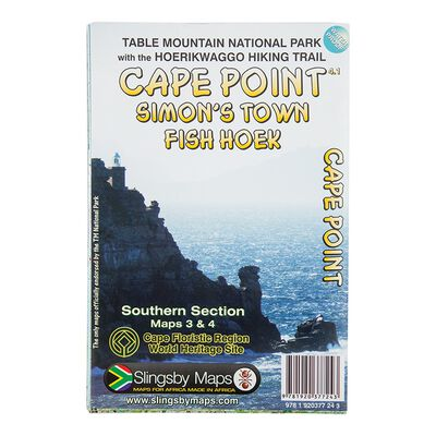 Slingsby Cape Point Waterproof Map