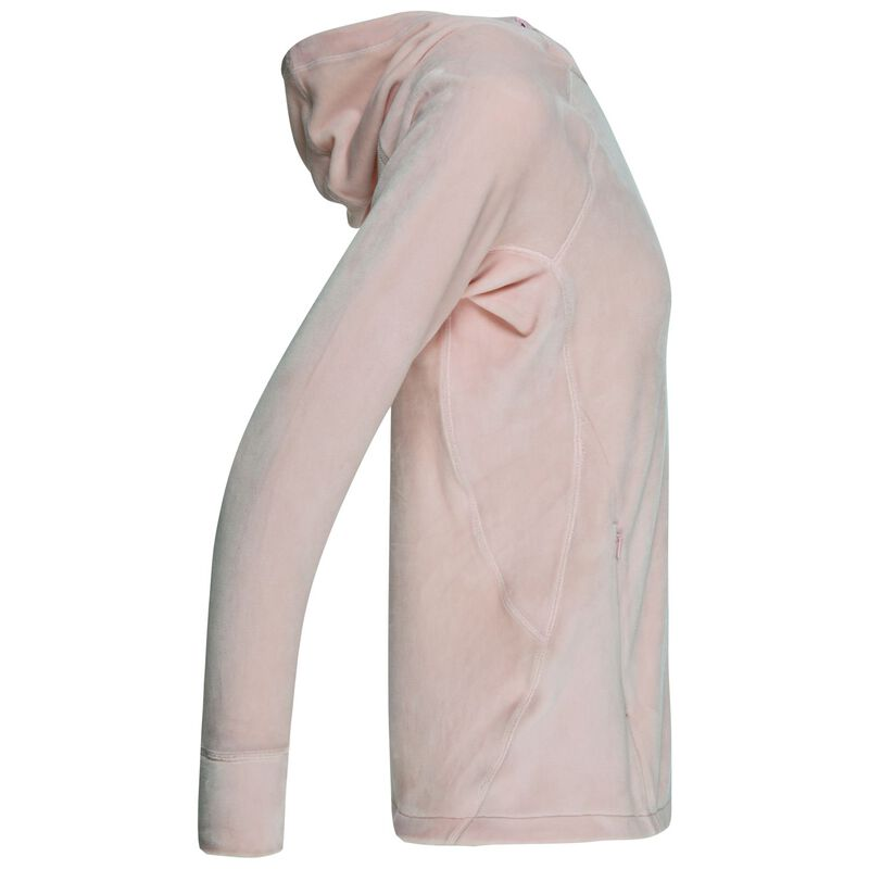 K-Way Women's Taryn Plush Hooded Fleece  -  nude