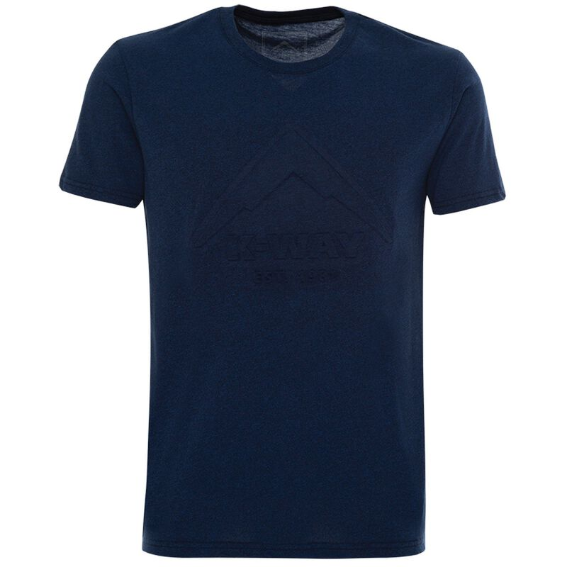 K-Way Men's Brand Vehicle S19.2 T-Shirt -  navy