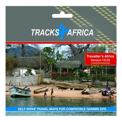 Tracks 4 Africa GPS Maps v19.10 SD Card