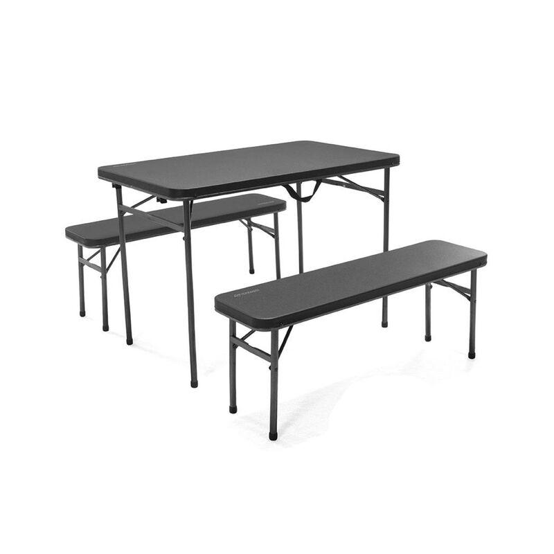 OZtrail Ironside 3-Piece Table Set -  nocolour