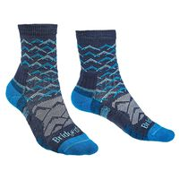 Bridgedale Women's Hiking Lightweight Endurance Sock -  indigo-blue