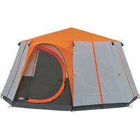 Coleman® Tent Cortes Octagon 8 Orange Tent -  orange-grey
