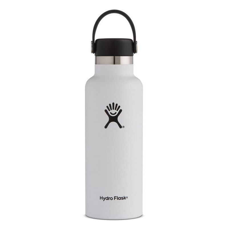 Hydroflask 532ml Standard Mouth Flask -  white