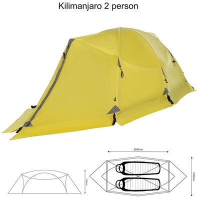 K-Way Expedition Series Kilimanjaro 2 Person Tent