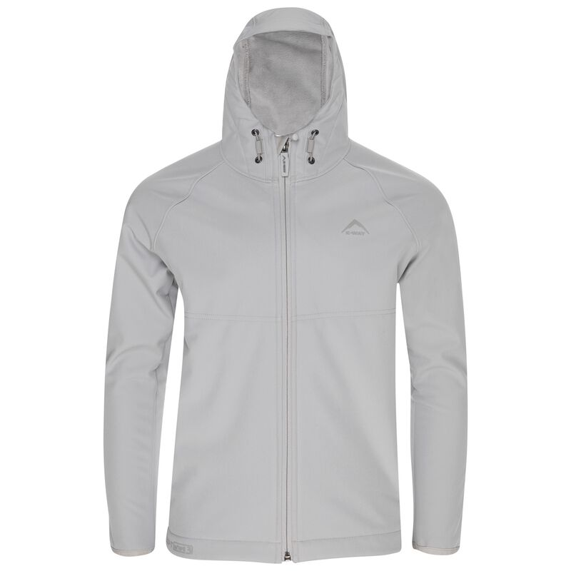 K-Way Youth Ocelot 3-ply Hoody Softshell -  silver-grey