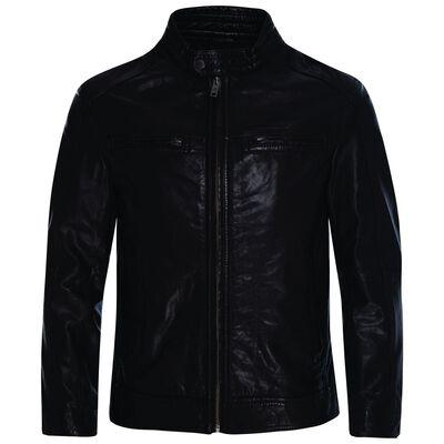 Theo Men's Leather Jacket