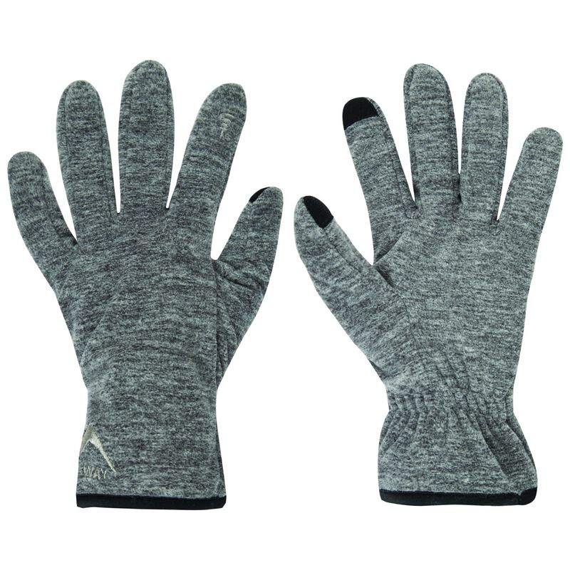 K-Way Touch Kinzer'18 Glove -  grey-charcoal