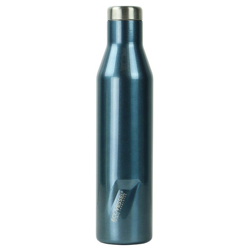 Ecovessel 750ml Aspen Flask -  blue