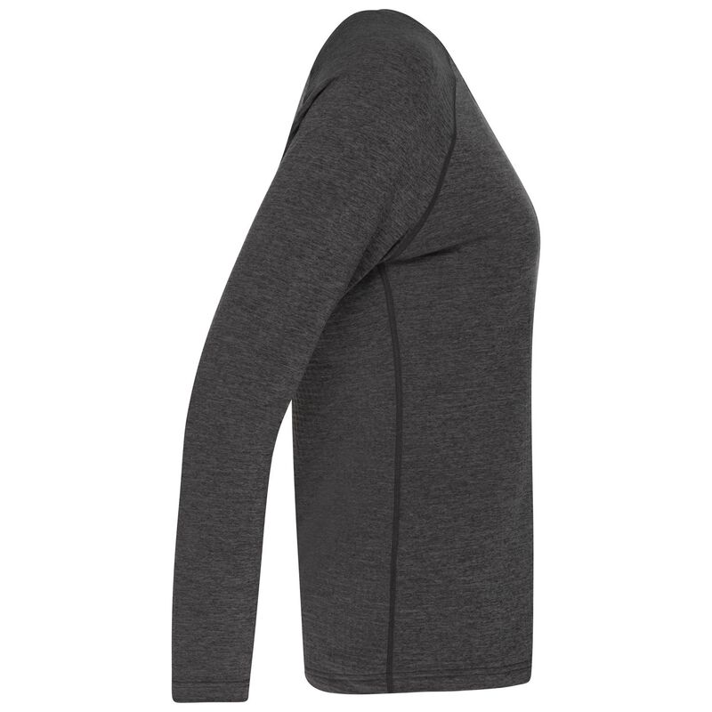 K-Way Women's Hazel Crewneck Fleece  -  charcoal