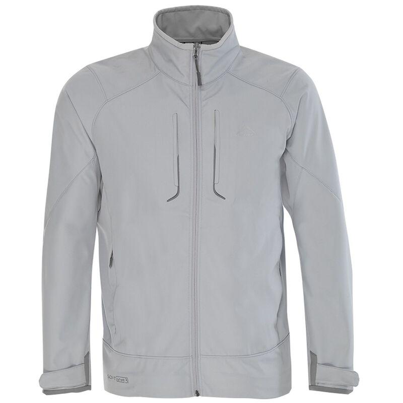 K-Way Men's Epic '12 Softshell Jacket -  silvergrey