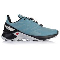 Salomon Men's Supercross Blast Shoe -  lightblue-white
