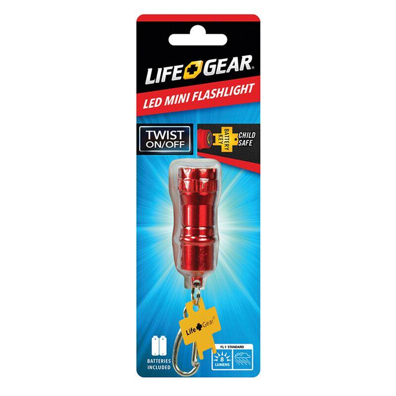 Life+Gear Mini Flashlight -  red