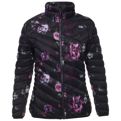 K-Way Women's Printed Tundra Down Jacket