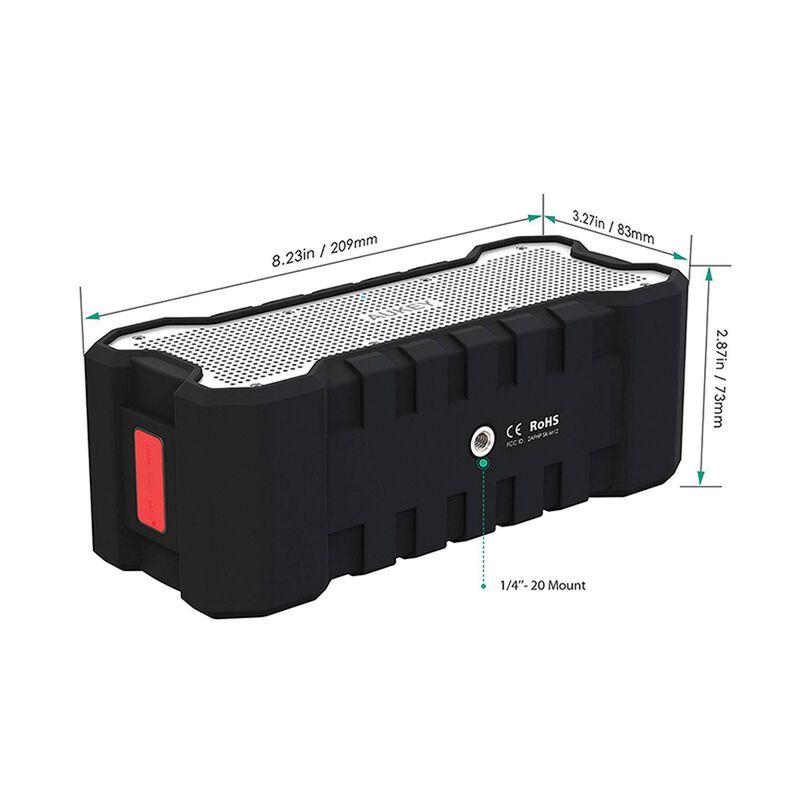 Aukey SK-M12 Rugged XL Portable Bluetooth Speaker -  black