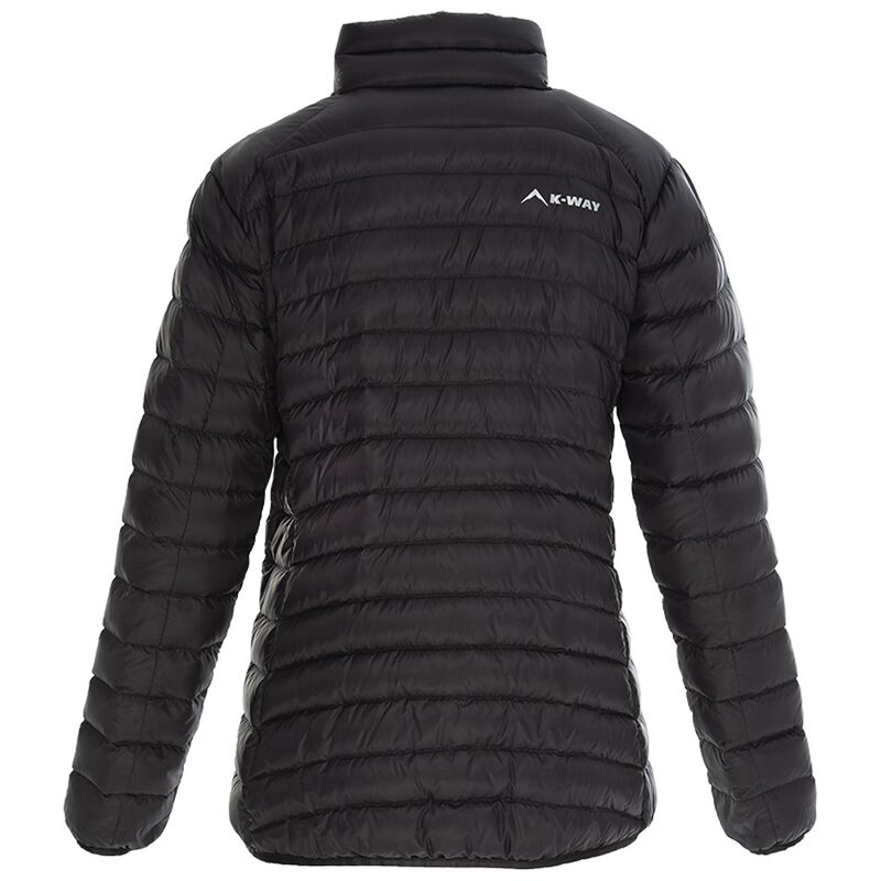 K-Way Women's Swan '18 Down Jacket -  black-darkcharcoal