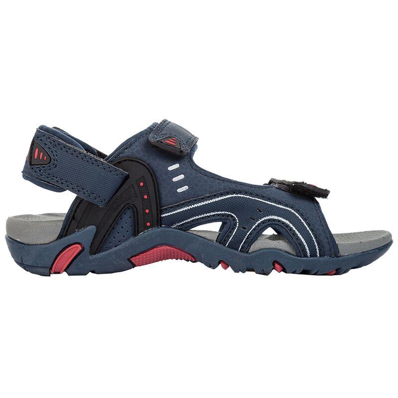 K-Way Kids Stepper Sandal -  blue-red