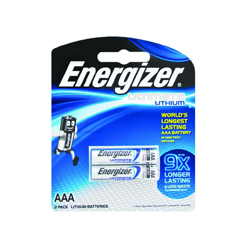 Energizer Lithium e2 AAA Batteries -  nocolour
